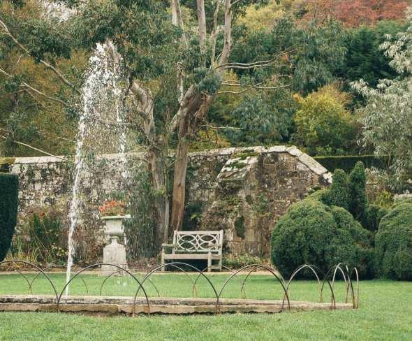 Groombridge Place Drunken Garden