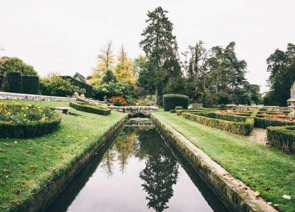 Groombridge garden water canal