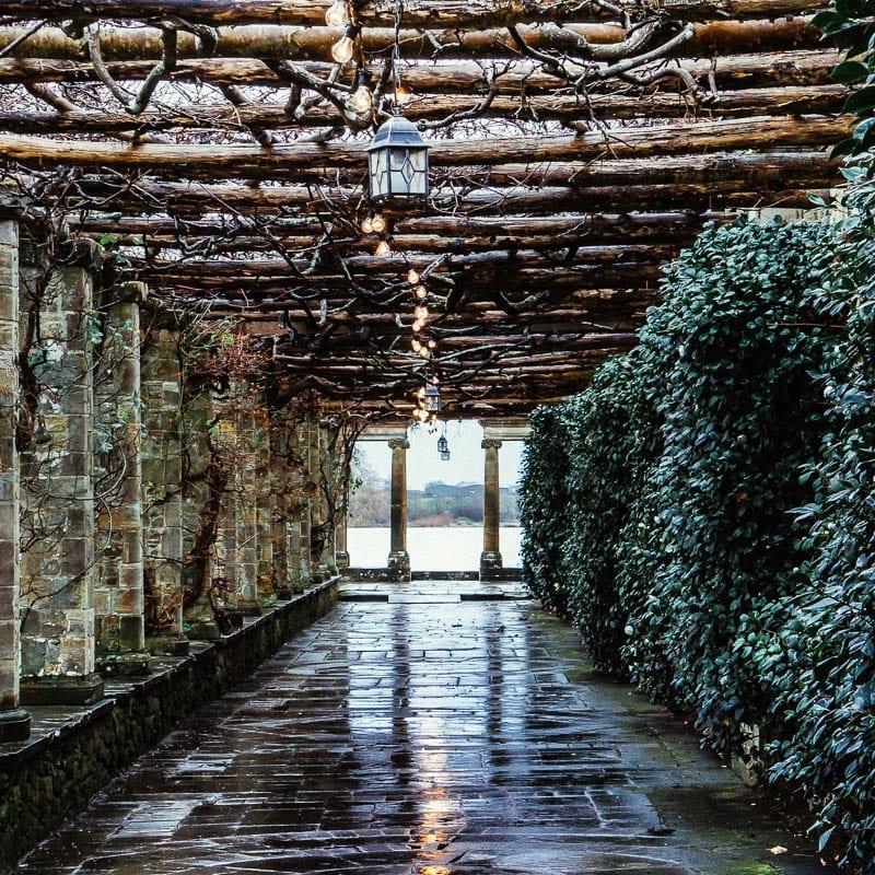 Hever Italian Garden walkway