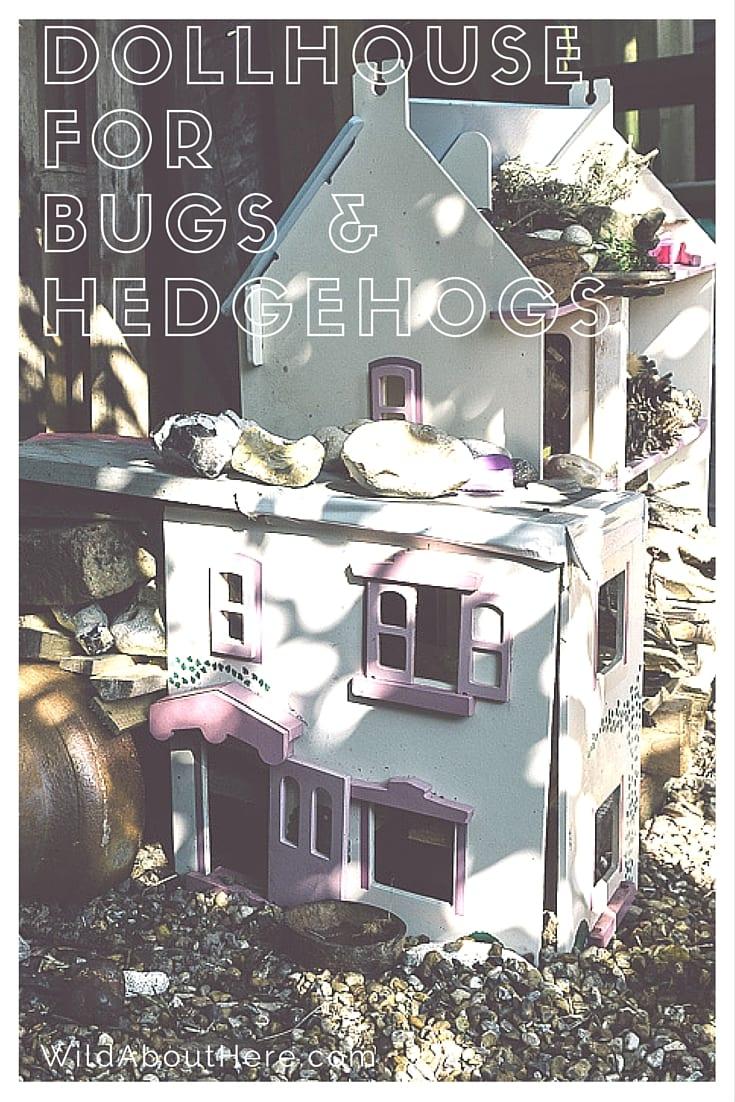 Dolls House Bugs hotel Hedgehog Home