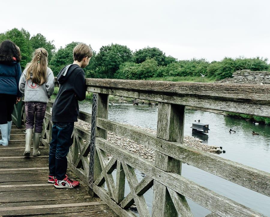 London Wetland Centre kids exploring