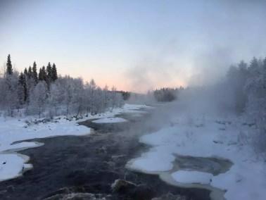 Winter rivers
