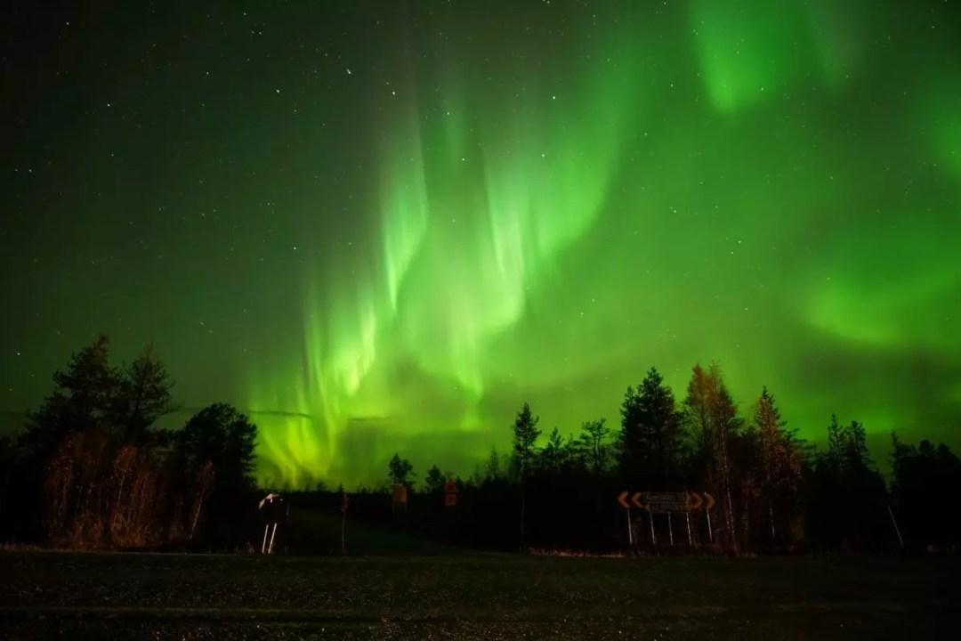 Amazing Northern Lights Rovaniemi