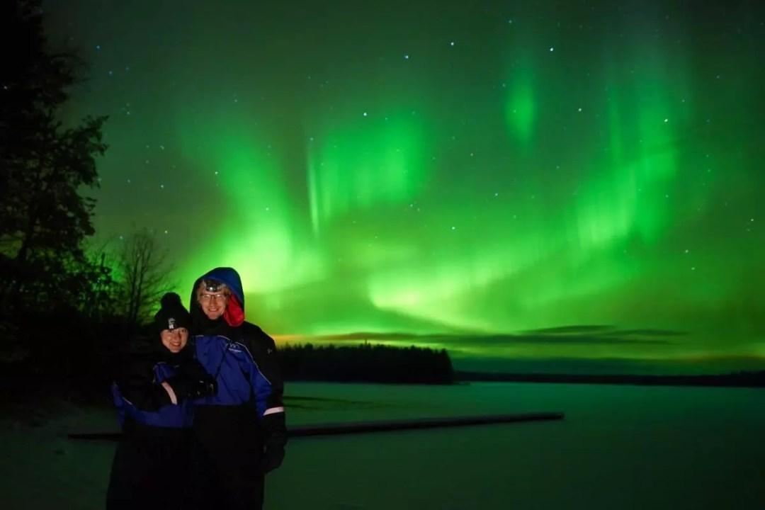 Northern Lights Rovaniemi October