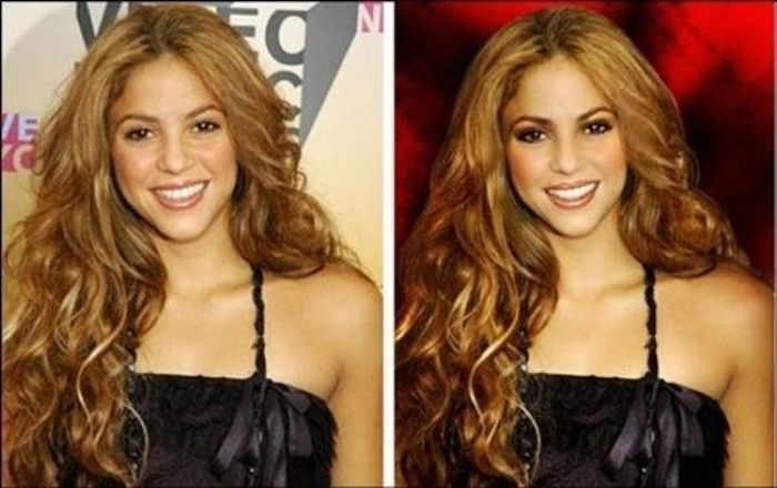 Something is. photoshop celebrities before after apologise, but