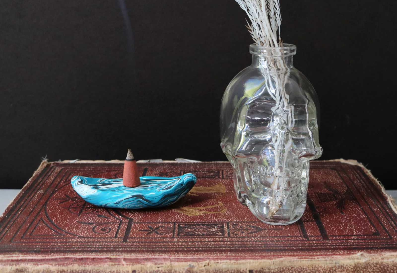 DIY Marbled Incense Holder  Wild Amor