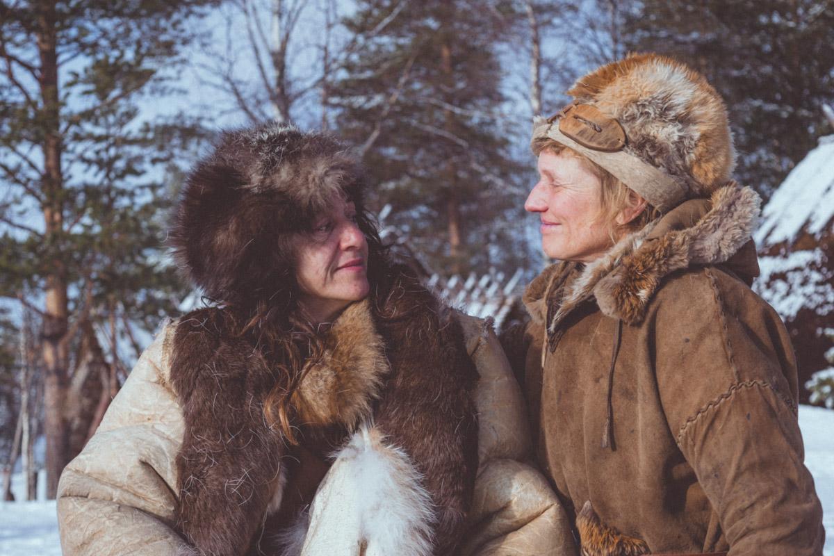Lynx Vilden and Sandrine Geraud