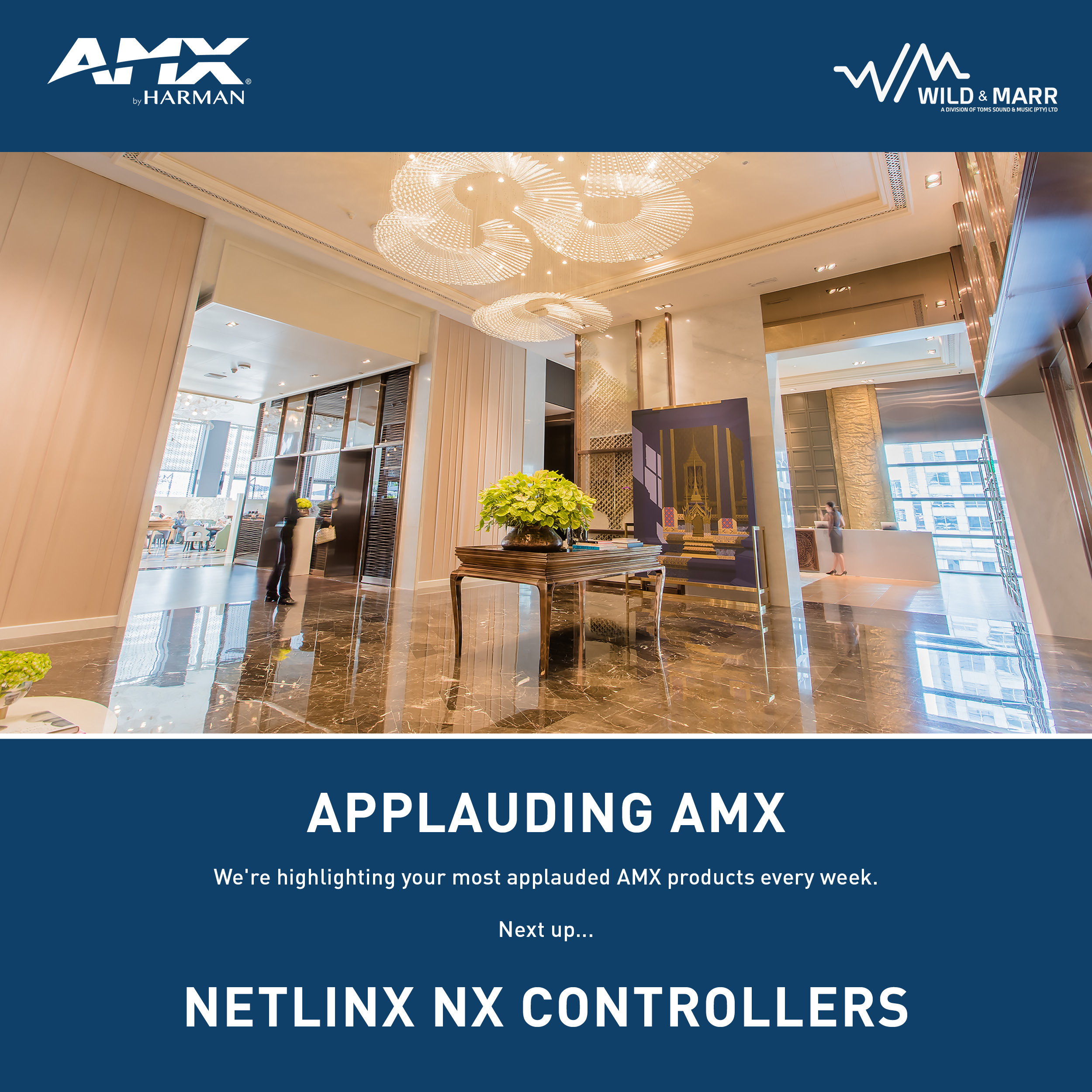 Applauding AMX | We're highlighting your most applauded products every week. Next up, NetLinx NX Integrated Controllers