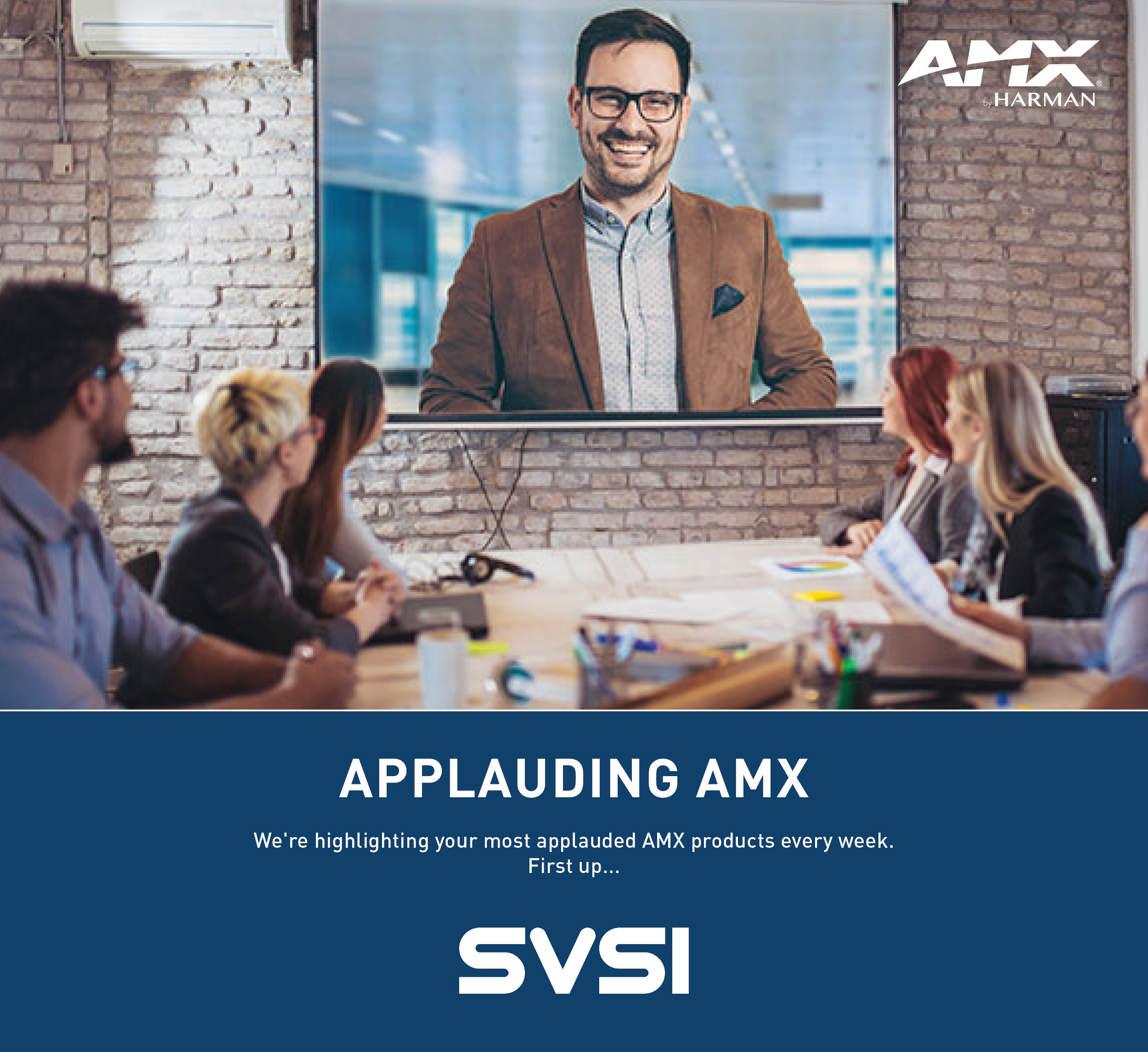 We're highlighting your most applauded AMX products every week. First up, SVSI😍