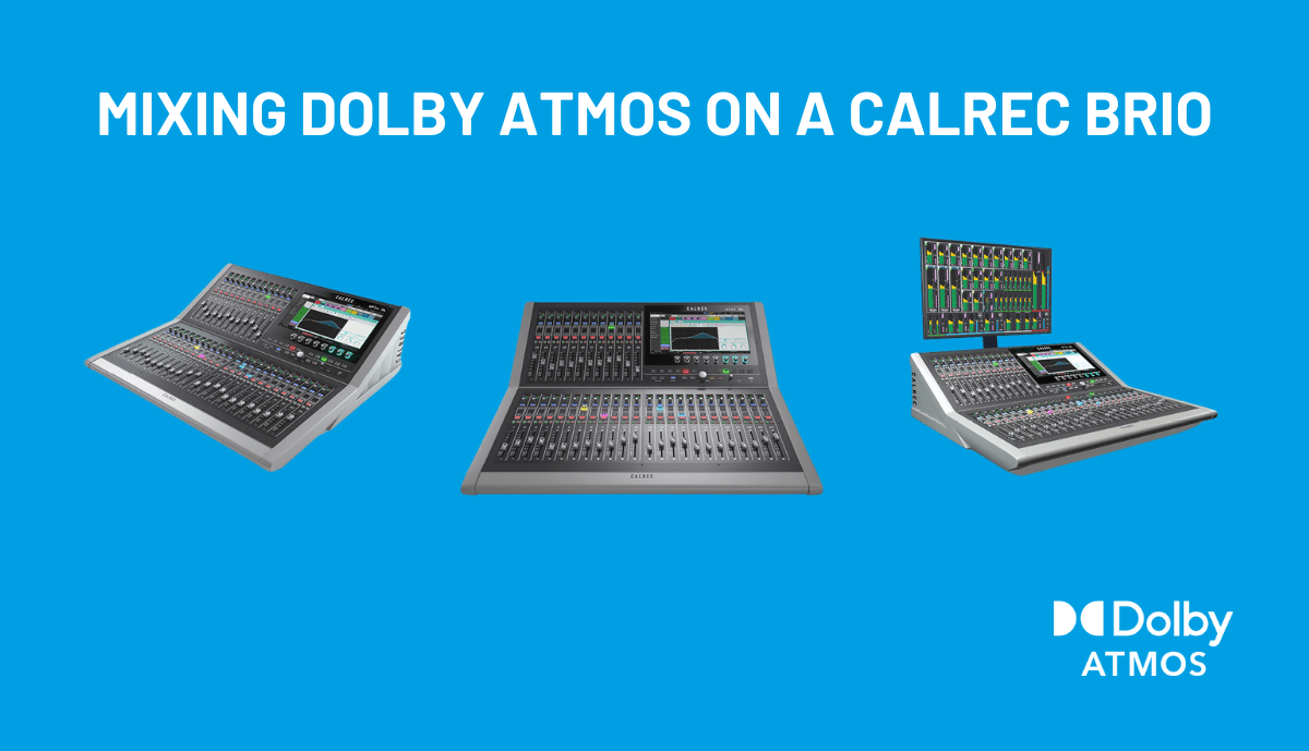 FREE Dolby Atmos®Training NOW AVAILABLE! 🎓
