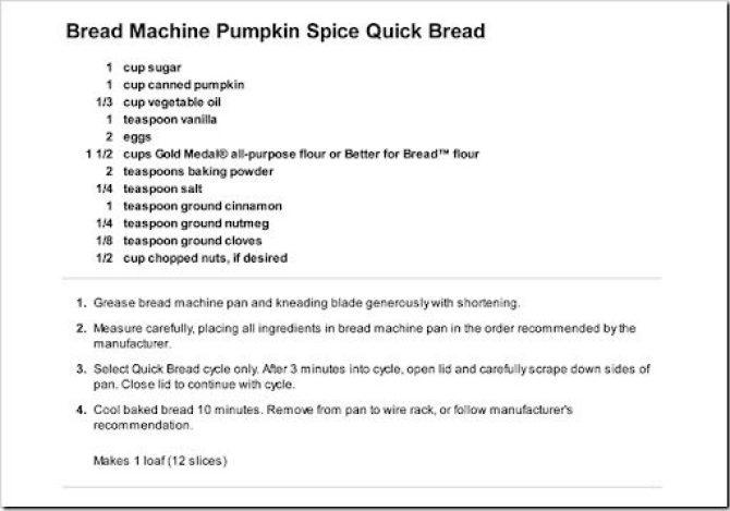 2012-09-18 pumpkin bread recipe