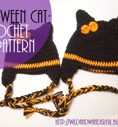Halloween Cat | Crochet Hat Pattern {free!}