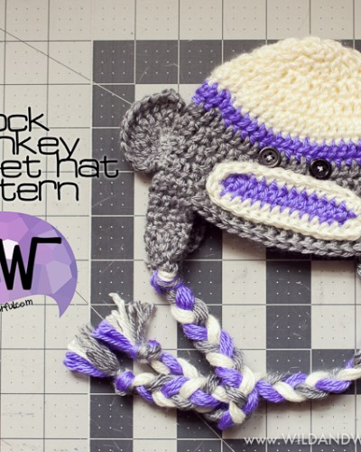 Sock Monkey Hat :: Free Crochet Pattern