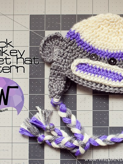 Sock Monkey Hat :: Free Crochet Pattern