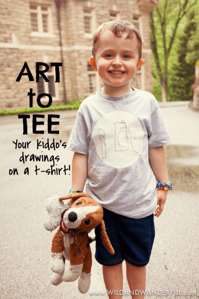 Art to Tee :: A Louis-designed tshirt!
