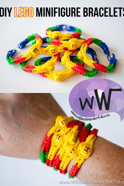 DIY Lego Minifigure Bracelet :: Tutorial