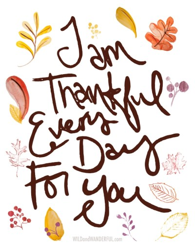 Thankful :: Free Printable