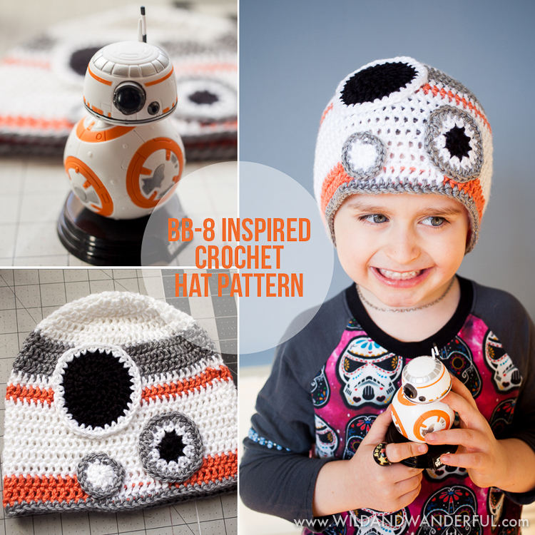 Bb 8 Inspired Hat Free Crochet Pattern
