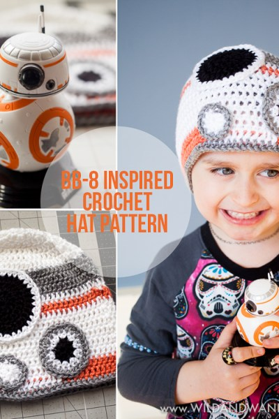 BB-8 Inspired Hat :: Free Crochet Pattern
