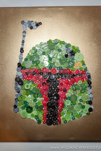 Boba Fett Button Art