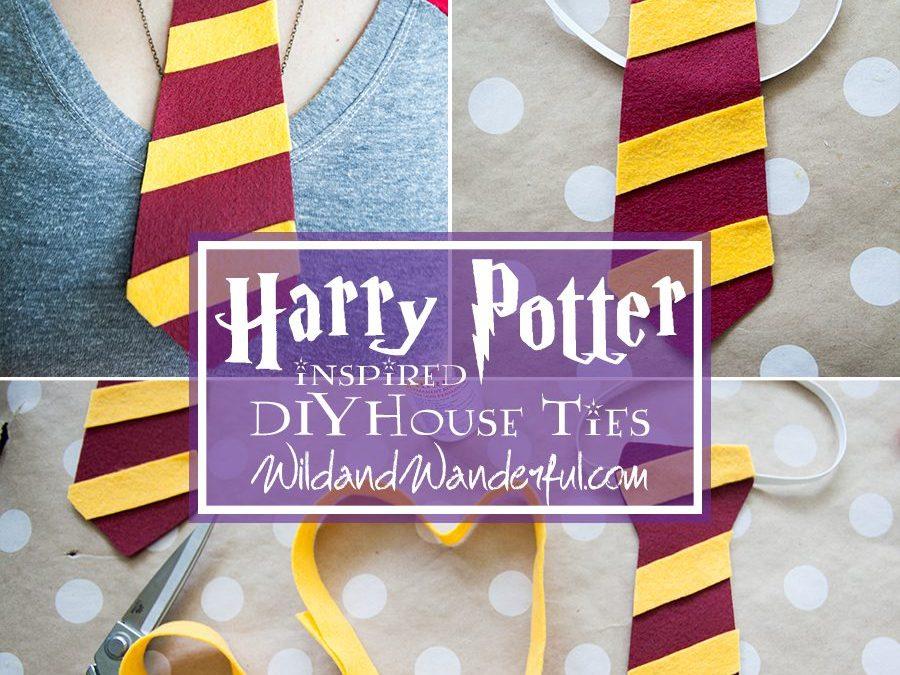 DIY Harry Potter House Ties