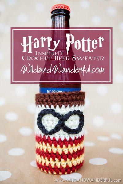Harry Potter-Inspired Beer Sweater :: Free Crochet Pattern