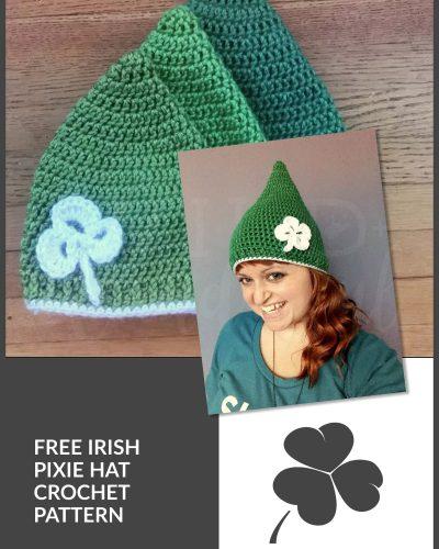 Irish Pixie Hat | Free Crochet Pattern!