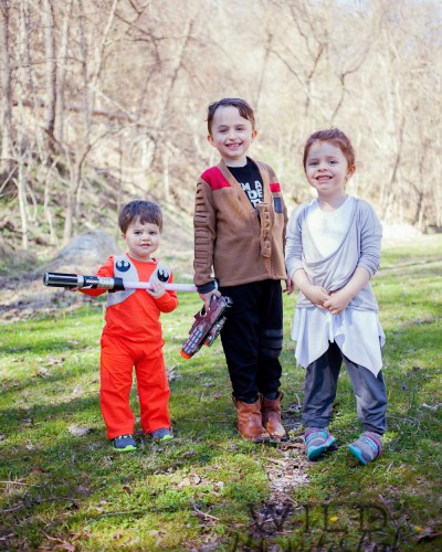 The Force Awakens | Cute Kid Edition