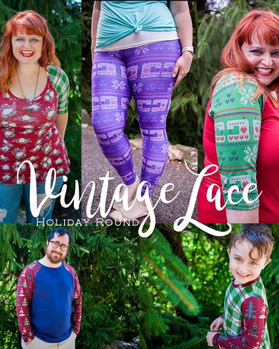 It's a Vintage Lace Christmas!