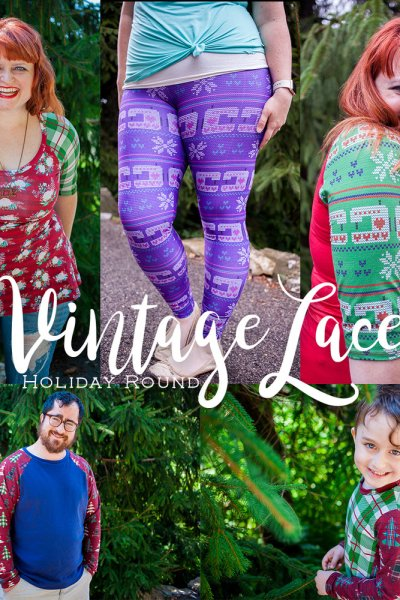 It's a Vintage Lace Christmas!