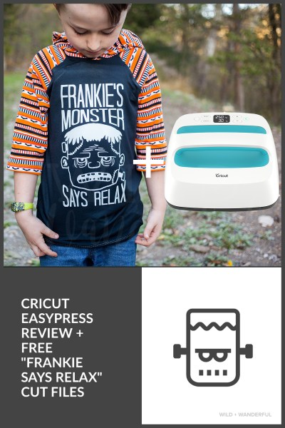 Cricut EasyPress Review + Halloween Freebie!