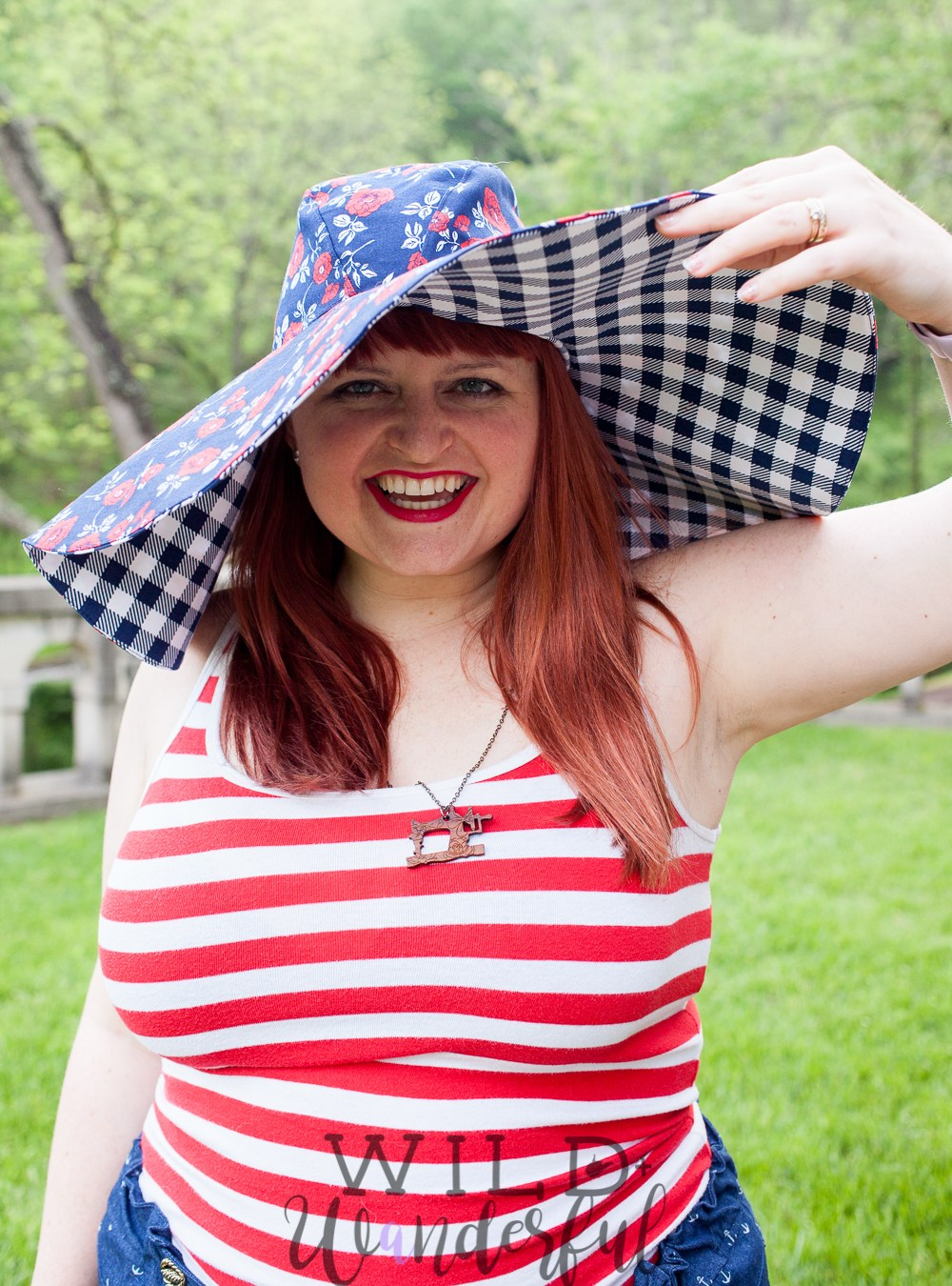 Set Sail Hat :: A FREEBIE by Patterns for Pirates!