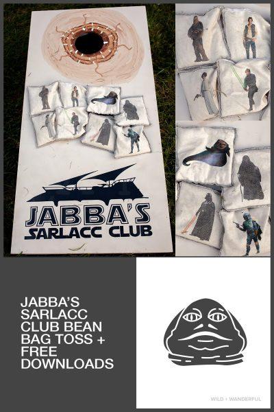 Jabba's Sarlacc Club Bean Bag Toss :: Star Wars Birthday Party