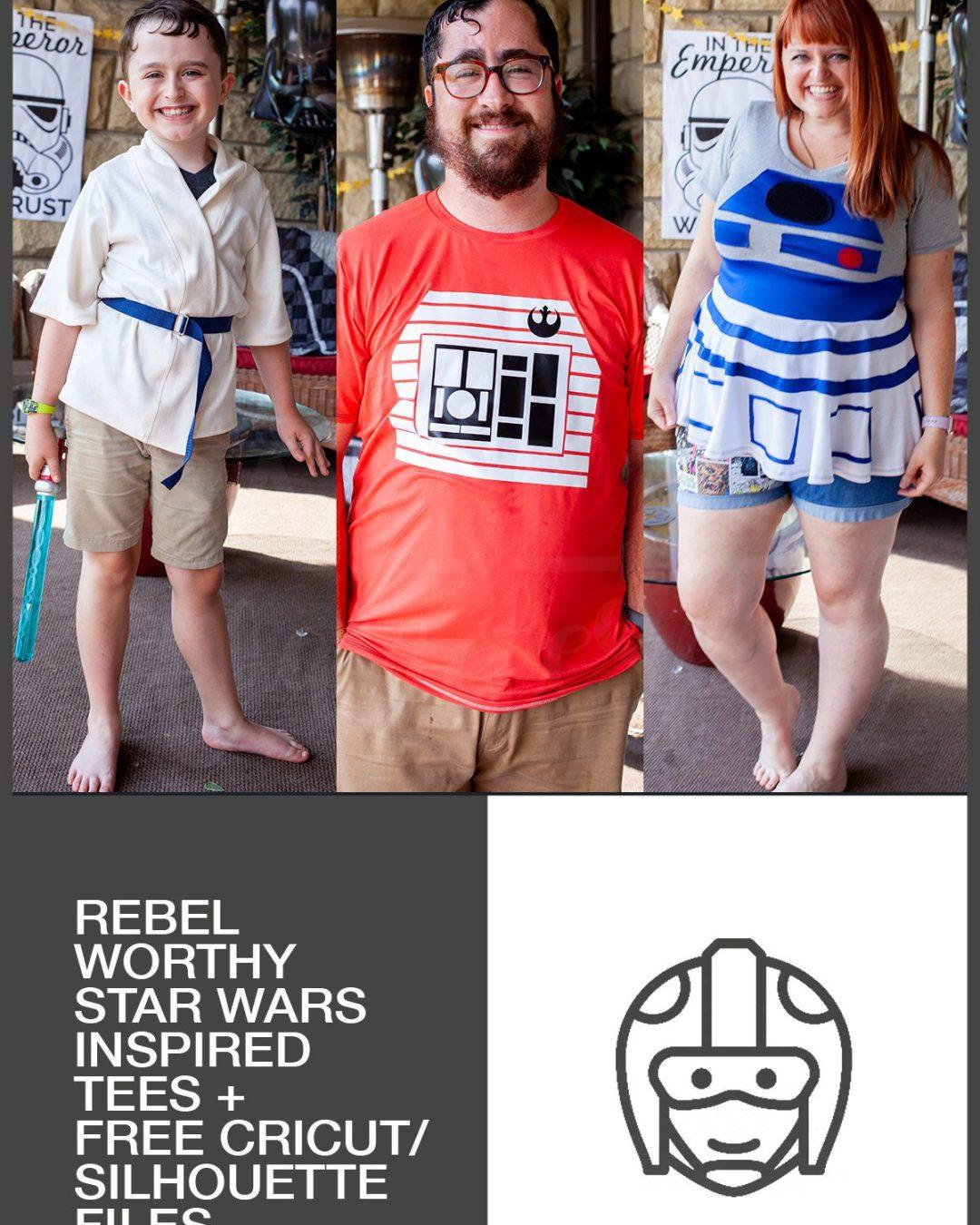 Rebel-Worthy Tees + FREE Download :: Star Wars Birthday Party
