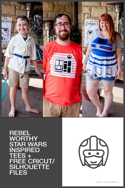 Rebel-Worthy Tees + FREE Download :: Star Wars Birthday Party
