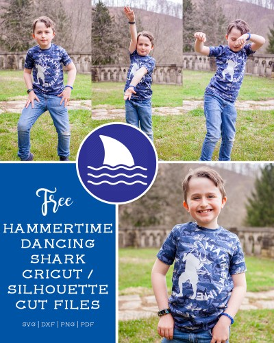 Hammer Time with CoordiKnit Nonsense Fabrics :: FREE Shark Cut File!