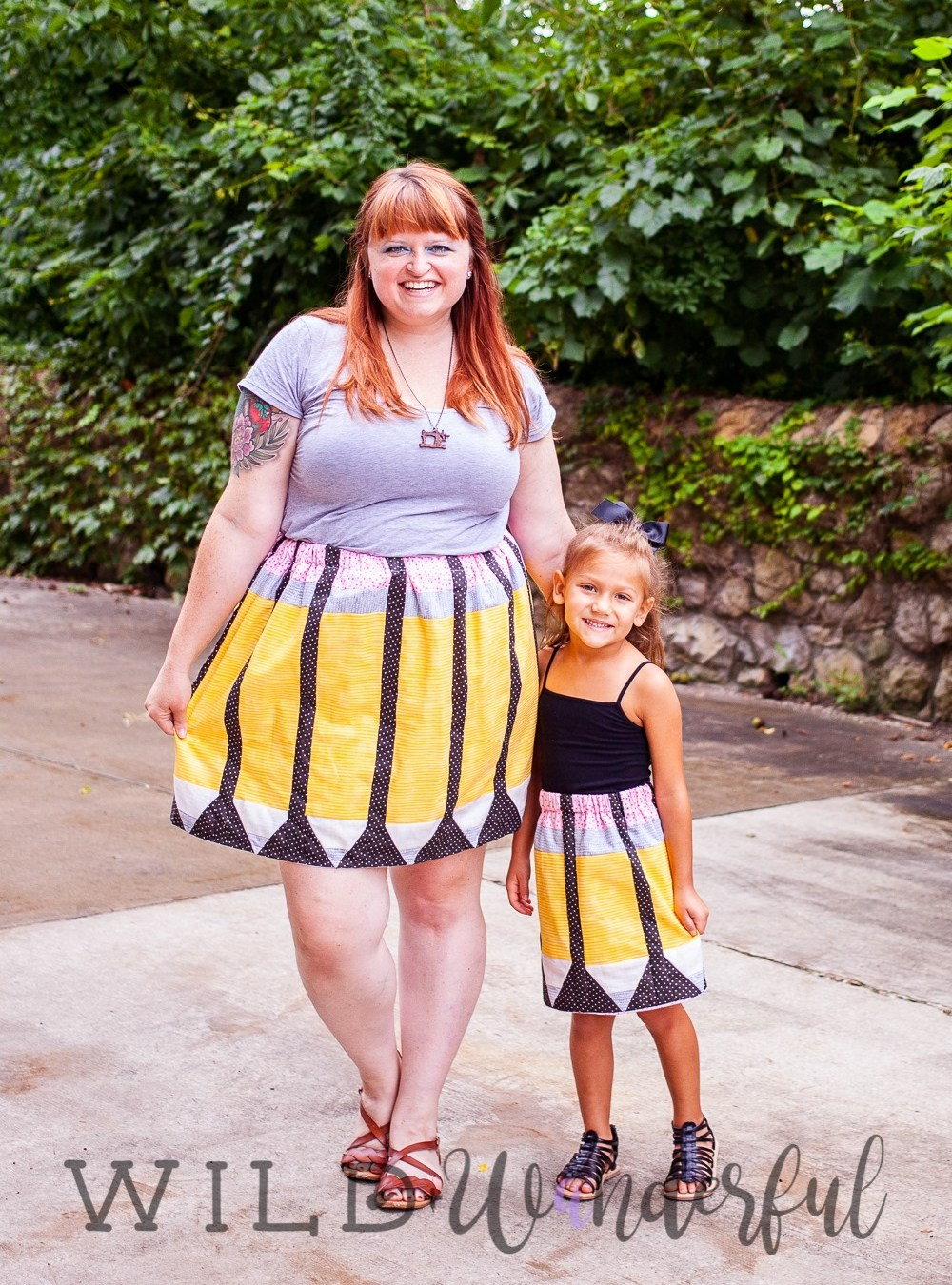 Just Write Skirt by Patterns for Pirates
