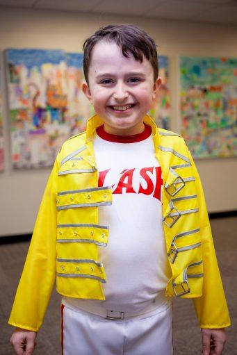 Freddie Mercury Talent Show Costume 2020