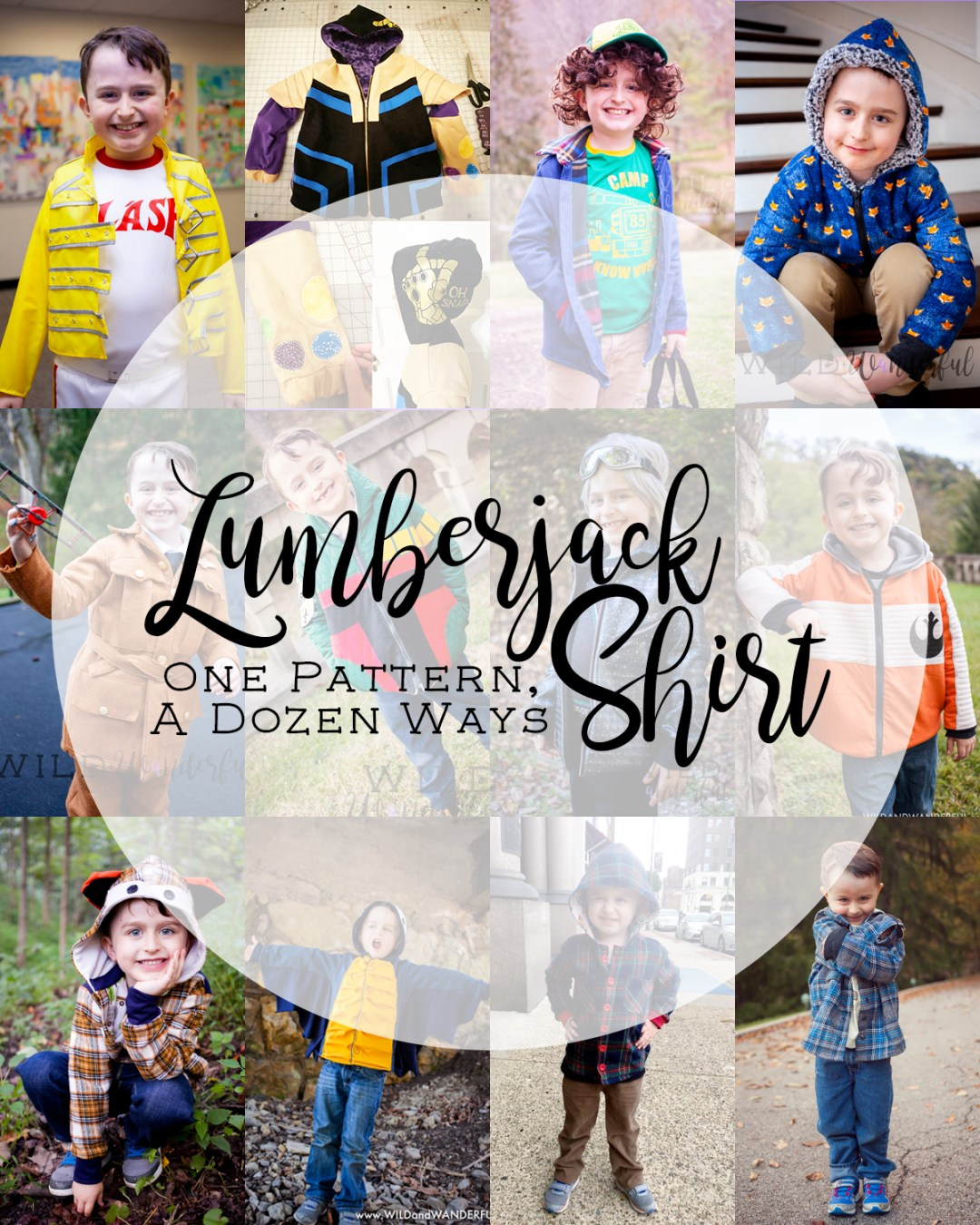 One Pattern, A Dozen Ways | A Recap of the Lumberjack Shirt