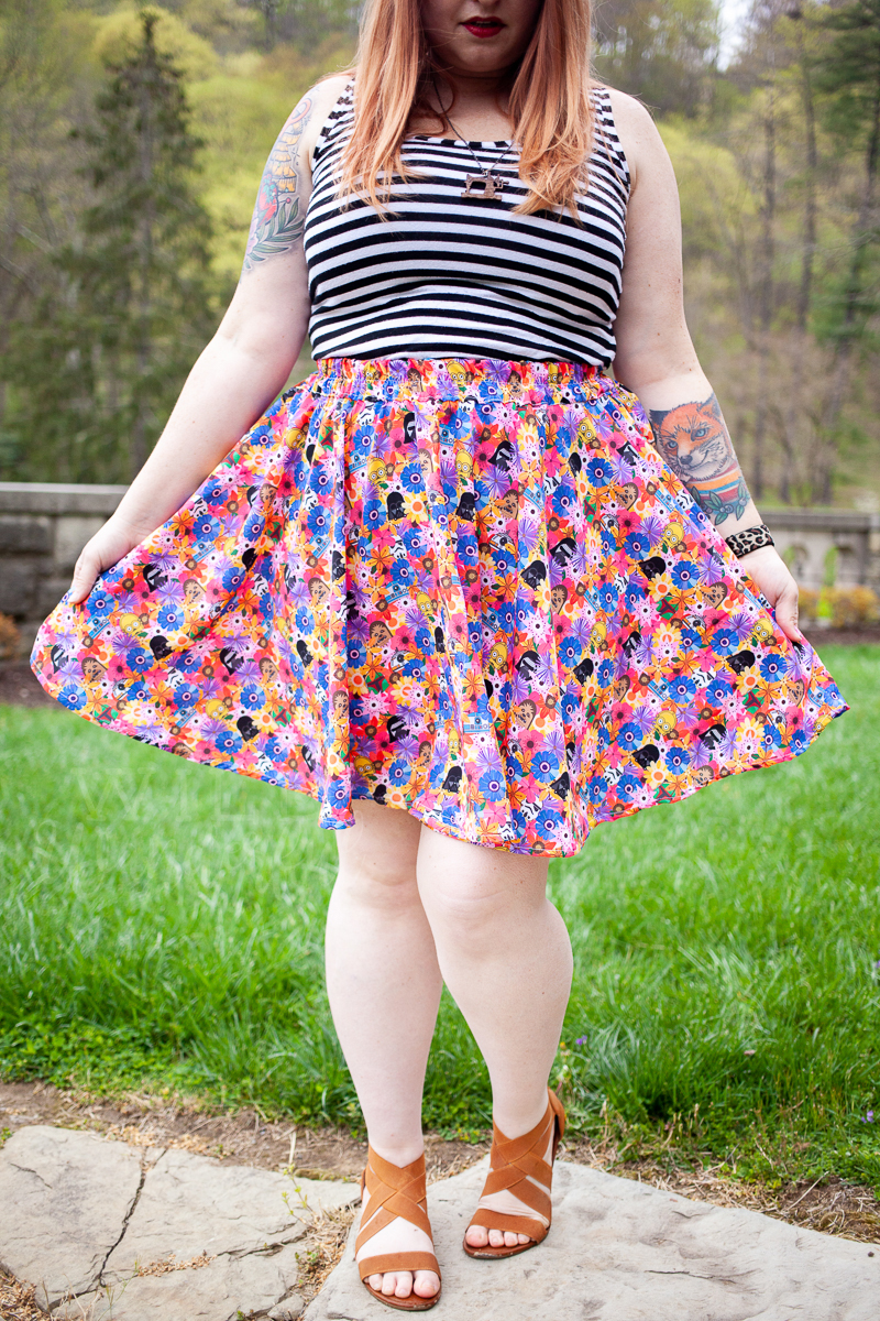 The Voyager Skirt :: Star Wars Style | A New FREEBIE Circle Skirt Pattern, by Wild + Wanderful!