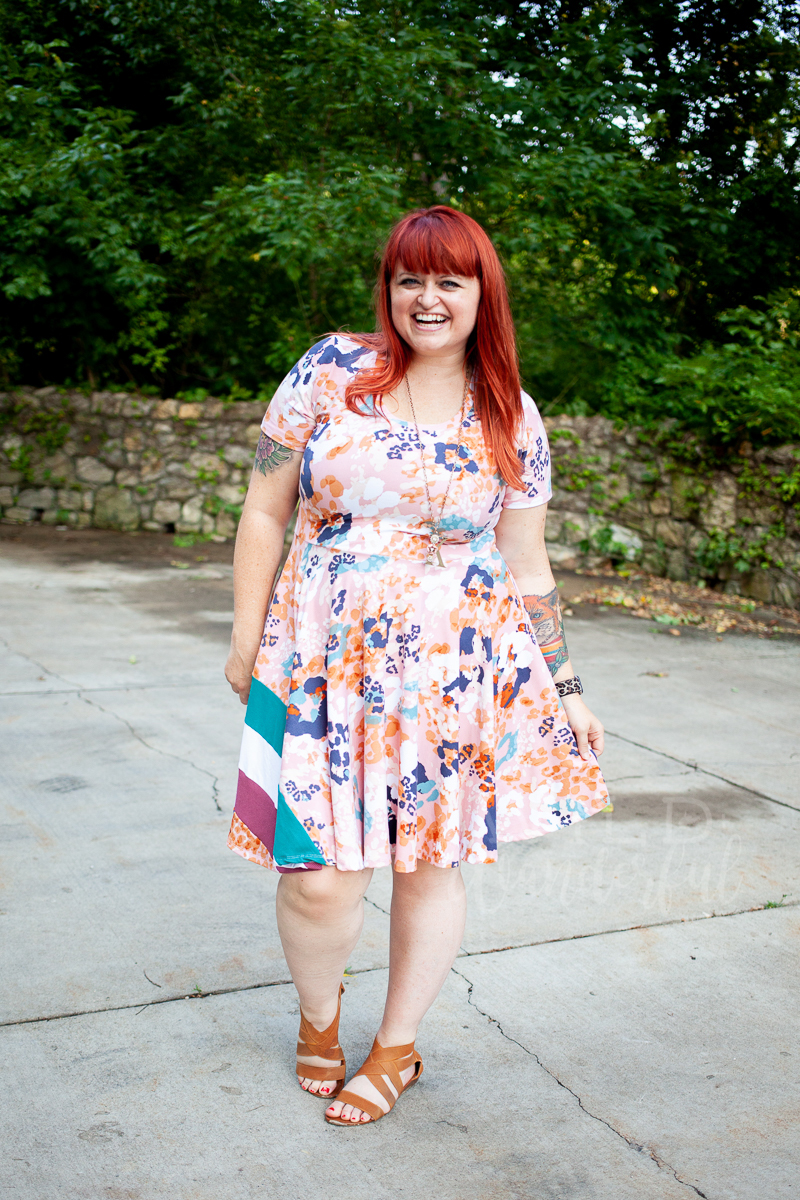 Rainbow Dress by Patterns for Pirates