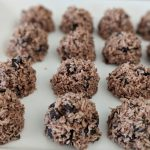 triple cocoa coconut fat bombs