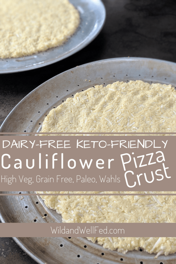 cauliflowe pizza crust