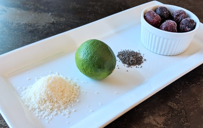 Low-Carb Cherry-Lime Coconut Chia Crunch Snacks