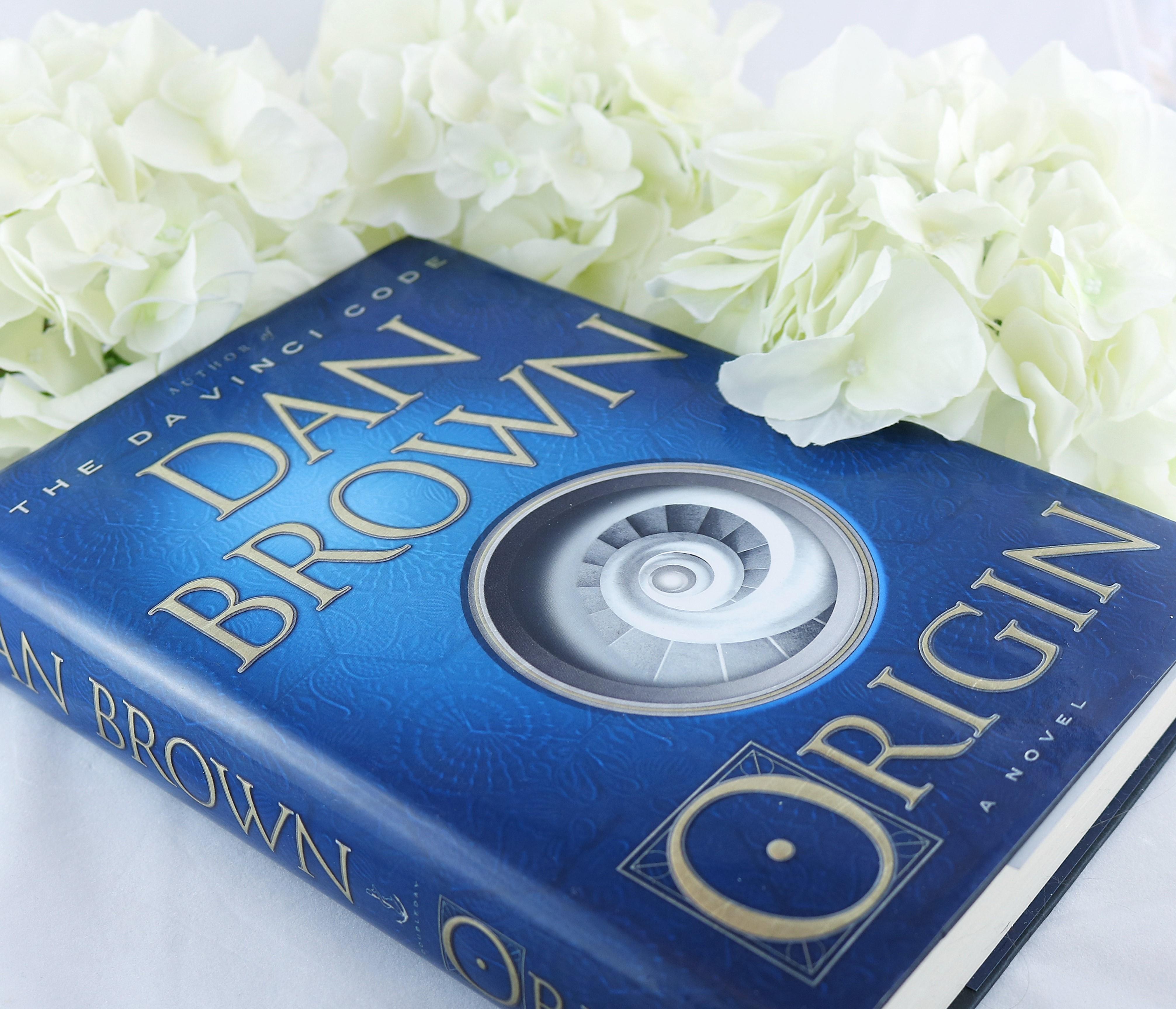 BOOK REVIEW:  Origin (Robert Langdon #5) by Dan Brown