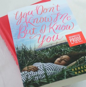 wildandwonderfulreads You Don't Know Me But I Know You