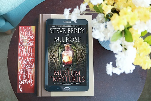 BLOG TOUR [review & excerpt]:  The Museum of Mysteries (Cassiopeia Vitt Adventure #1) by Steve Berry & M.J. Rose