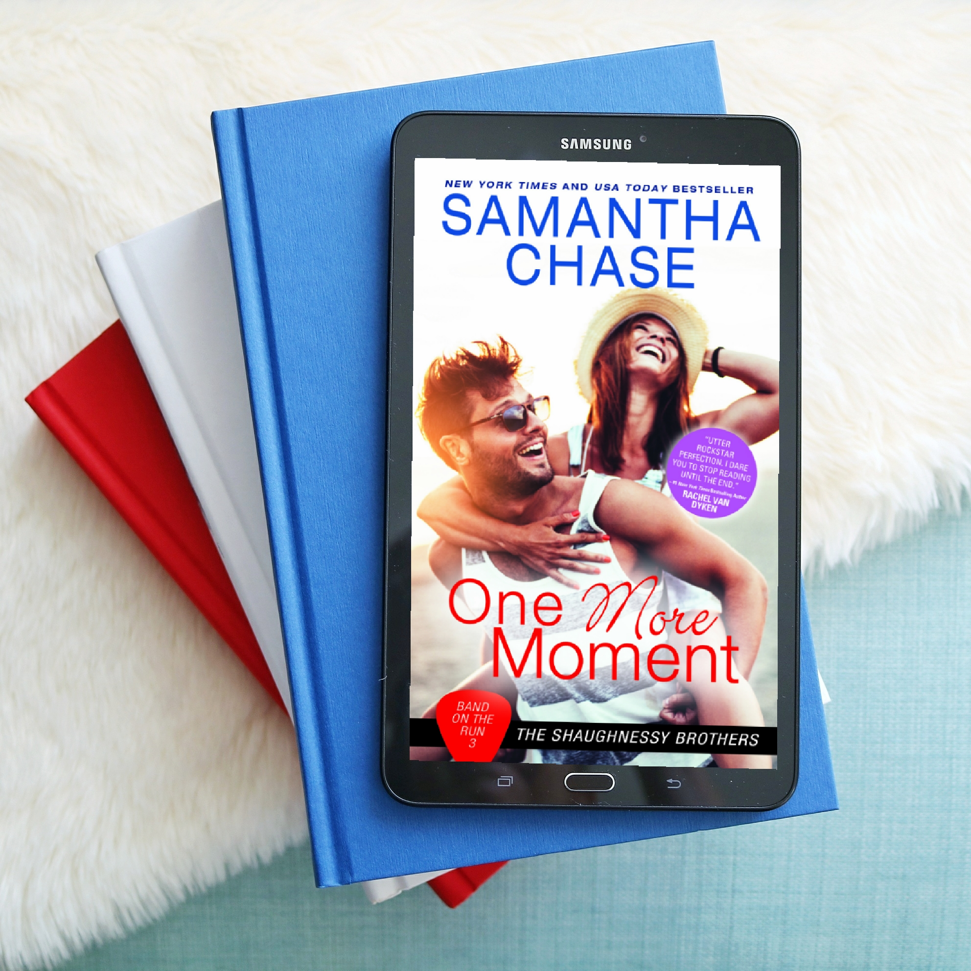 BLOG TOUR: One More Moment (Band on the Run #3) by Samantha Chase