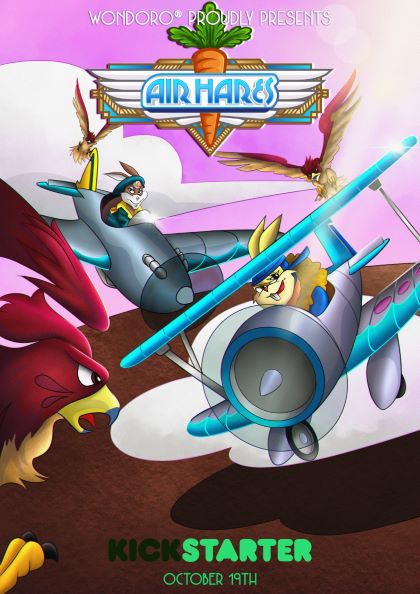 Air-Hares-Kickstarter-poster