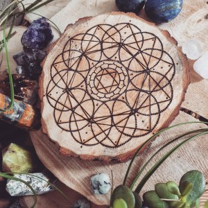 The Heart Chakra Crystal Grid